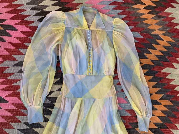 RARE 1940s Ceil Chapman Gown - image 12