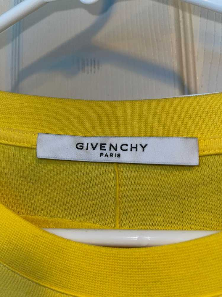 Givenchy Velcro patch logo tee - image 4