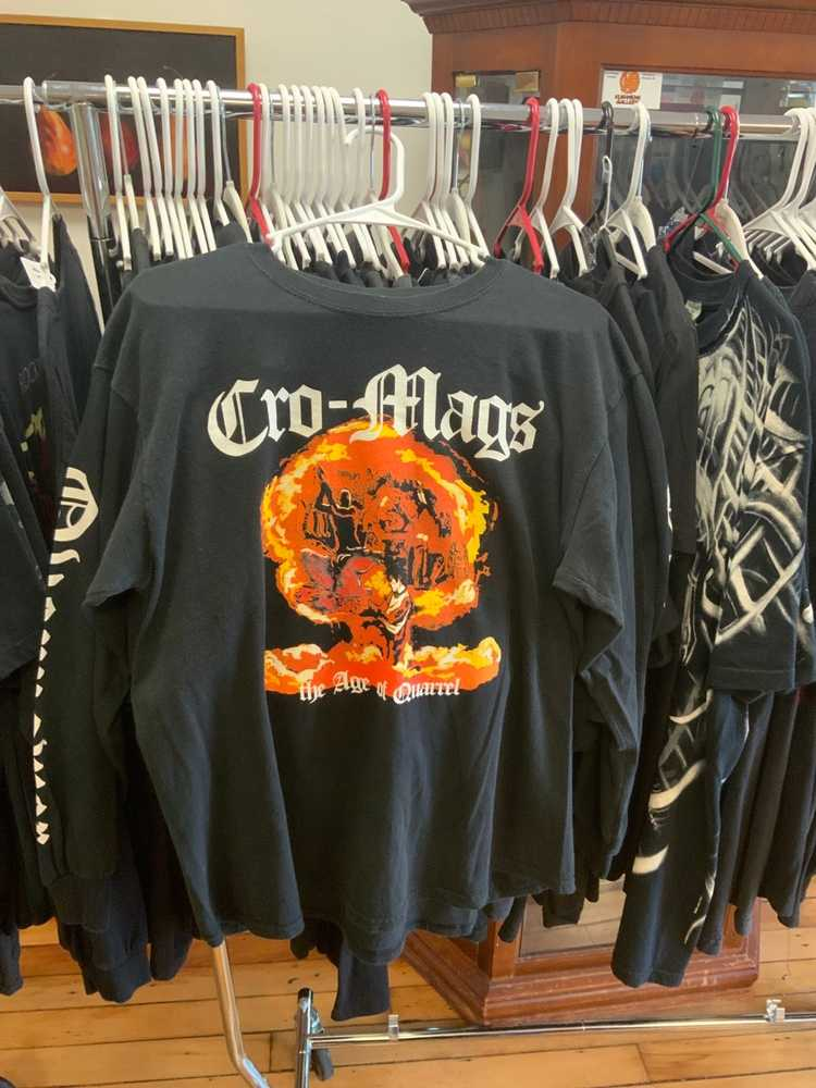 Band Tees × Rock T Shirt Cromags nyhc - image 1