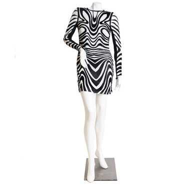 Tom Ford Rare Metal Mesh Swirl Dress