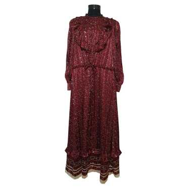 & Other Stories Dress in Bordeaux