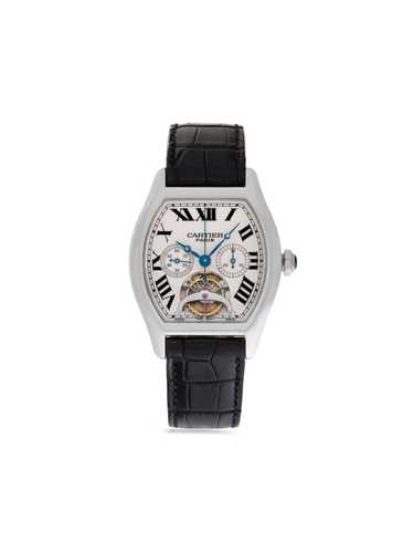 Cartier 2015 pre-owned Cartier Tortue 37mm - Neutr