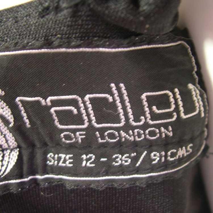 Vintage Black Radley Dress 1970s - image 5