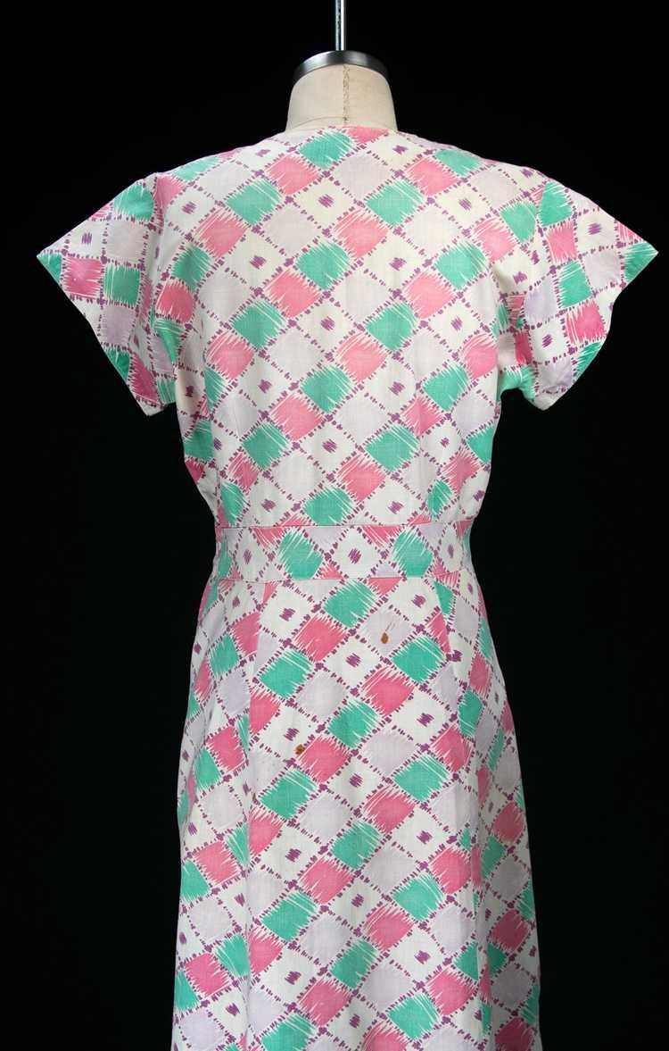 Vintage 1930's Feedsack Dress - image 11