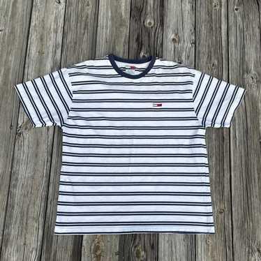 Tommy Hilfiger Vintage Tommy Hilfiger Striped Shi… - image 1