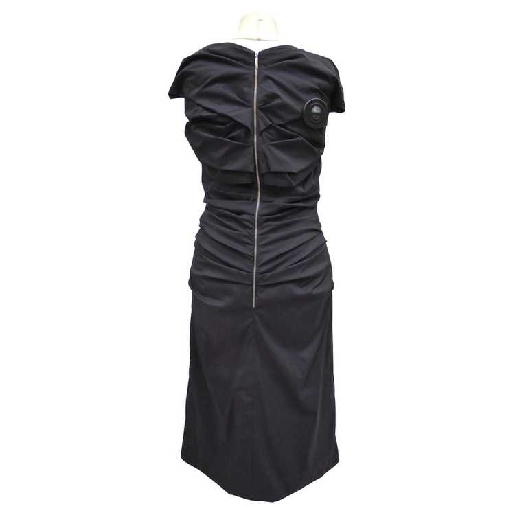 Talbot Runhof Dress with Ruffles - image 3