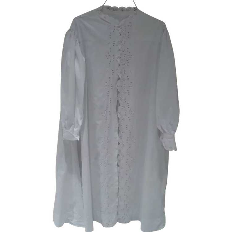 Victorian Eyelet Nightgown - image 2