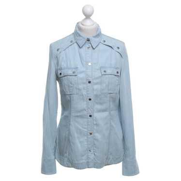 Karen Millen Denim shirt in light blue