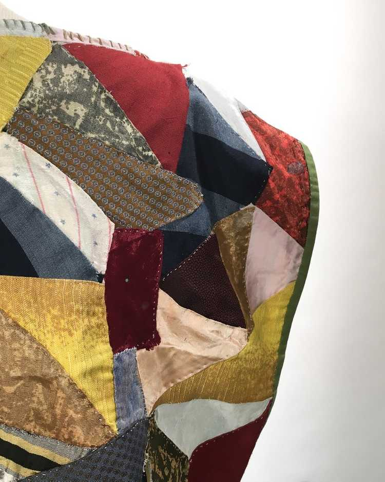 Handmade Crop Top from 1940s Quilt - image 6