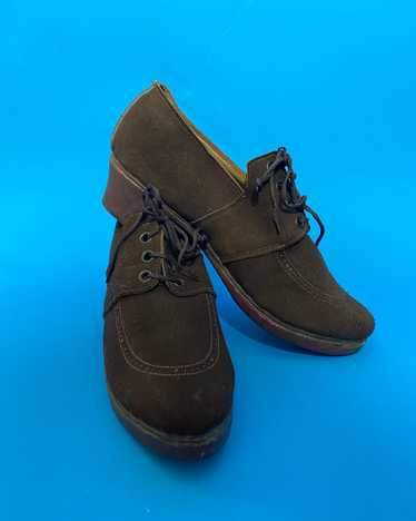 Deadstock 1940s shoes, french