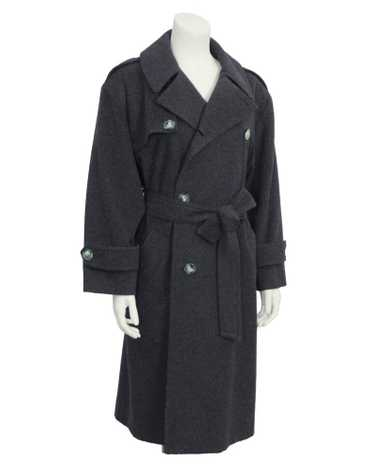 Celine Grey Wool Coat
