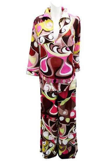 Emilio Pucci Beach Pyjamas in Geometric Signature