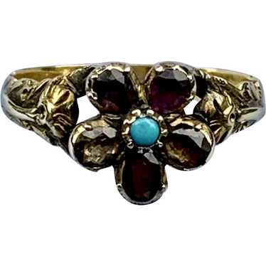 Victorian Pansy Ring