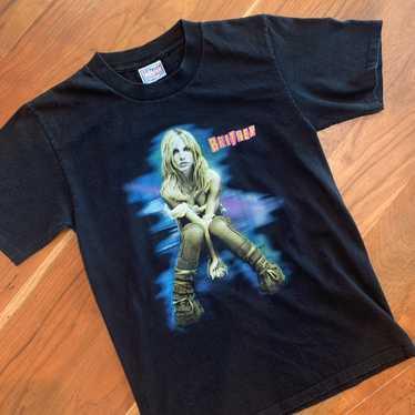2001 Briney Spears BRITNEY Tour Tshirt sz S - image 1