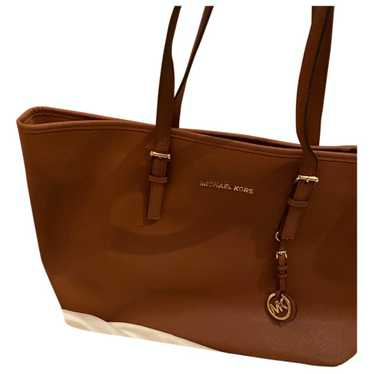Michael Kors Jet Set Brown Leather handbag for Wom