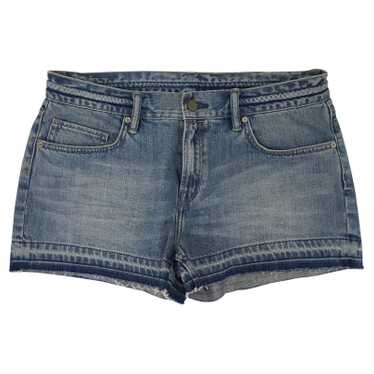 All Saints Light blue denim shorts