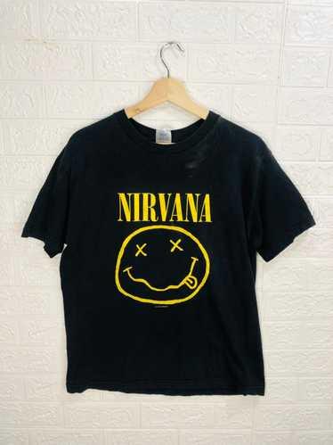 Band Tees × Nirvana × Vintage Vintage Nirvana 1992