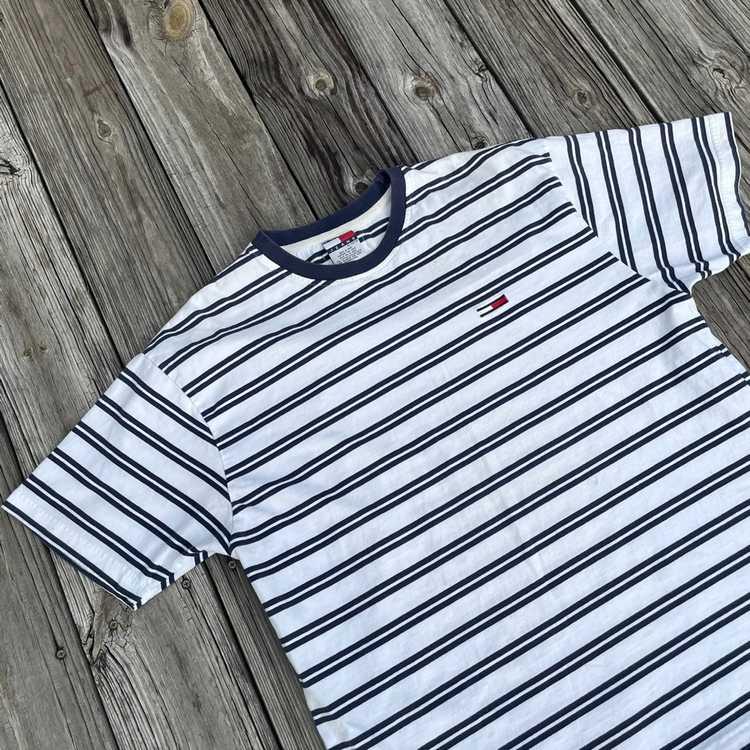 Tommy Hilfiger Vintage Tommy Hilfiger Striped Shi… - image 2