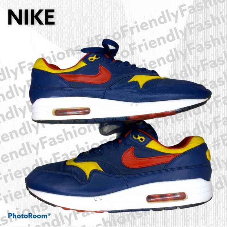 """Nike Nike Men's Blue Air Max 1 """"snow Beach"""" Polo … - image 3"""