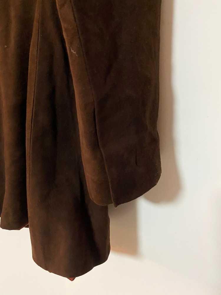 Celine × Vintage VINTAGE Celine Suede Leather Bla… - image 6