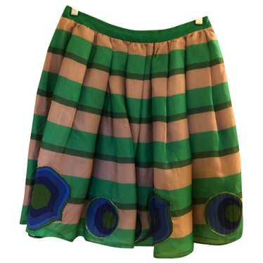 Miu Miu Multicolour Silk skirt for Women 40 IT