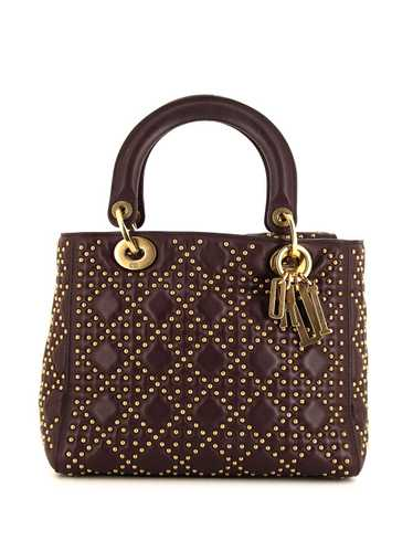 Christian Dior pre-owned Lady Dior Cannage tote ba