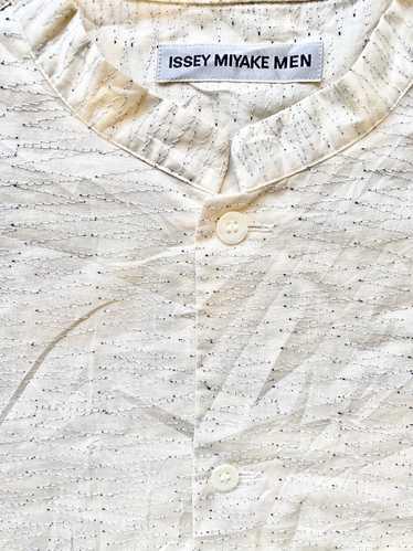 Issey Miyake Issey Miyake Men Zigzag Boro Shirt