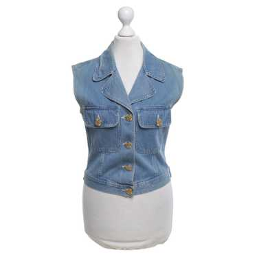 Moschino Jeans vest in blue