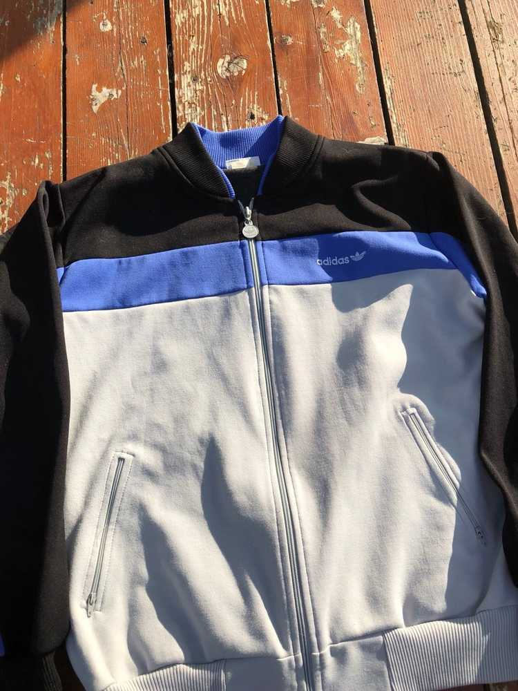 Vintage Vintage 70s Adidas Track Jacket Large - image 3