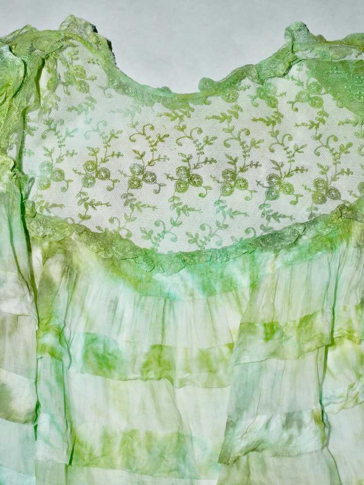 Algae Antique Victorian Blouse - image 5