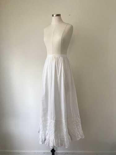 1910s Edwardian Petticoat Skirt