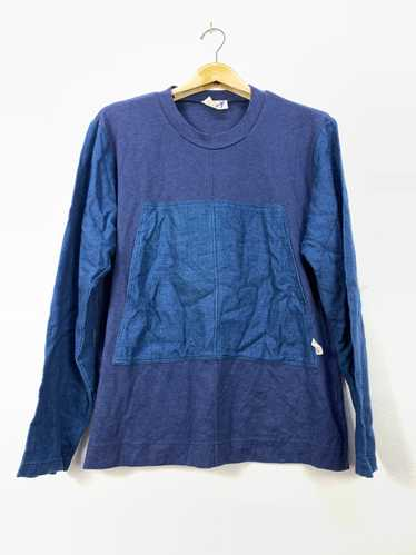 Vintage 90s Japanese Brand Hai Sporting Gear By Issey Miyake CODUROY Button up shirt