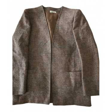 Jacques Fath Grey Wool jacket for Women 38 FR