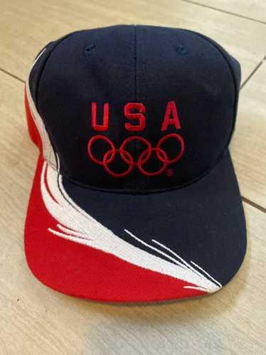 Dad Hat × Usa × Vintage Vintage 90s USA Olympics d