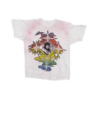 Vintage 80's MIKIO T-Shirt of Jimi Hendrix