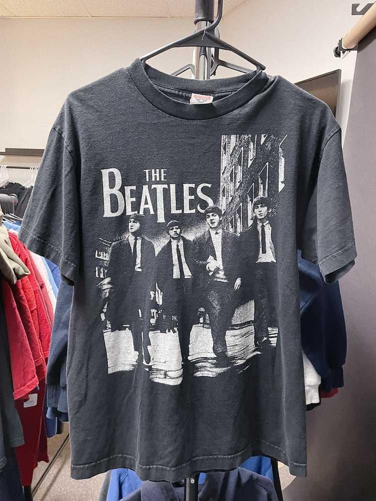 Band Tees × Rock Tees × Vintage Vintage Y2K Beatl… - image 1