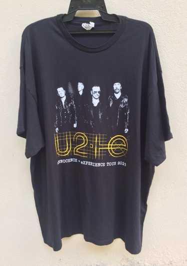Band Tees U2 band rock tee innocence + experince 2