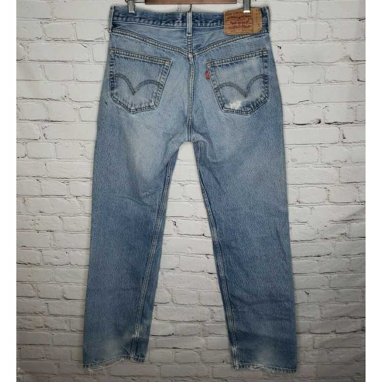 Levi's Vintage Clothing 501 High Rise Distressed … - image 3