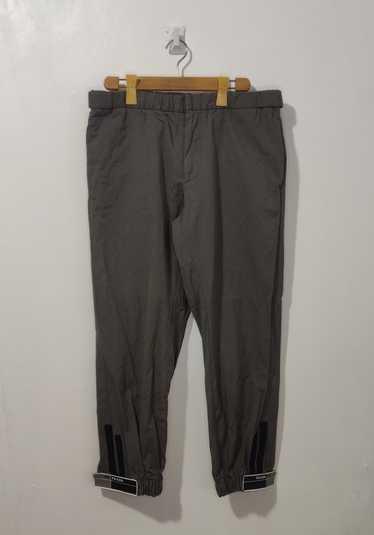 Prada Prada Gabardine Track Pants