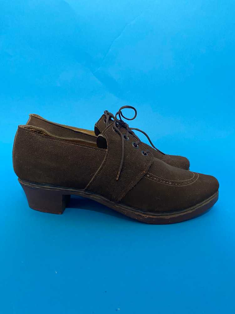 Deadstock 1940s shoes, french - image 2