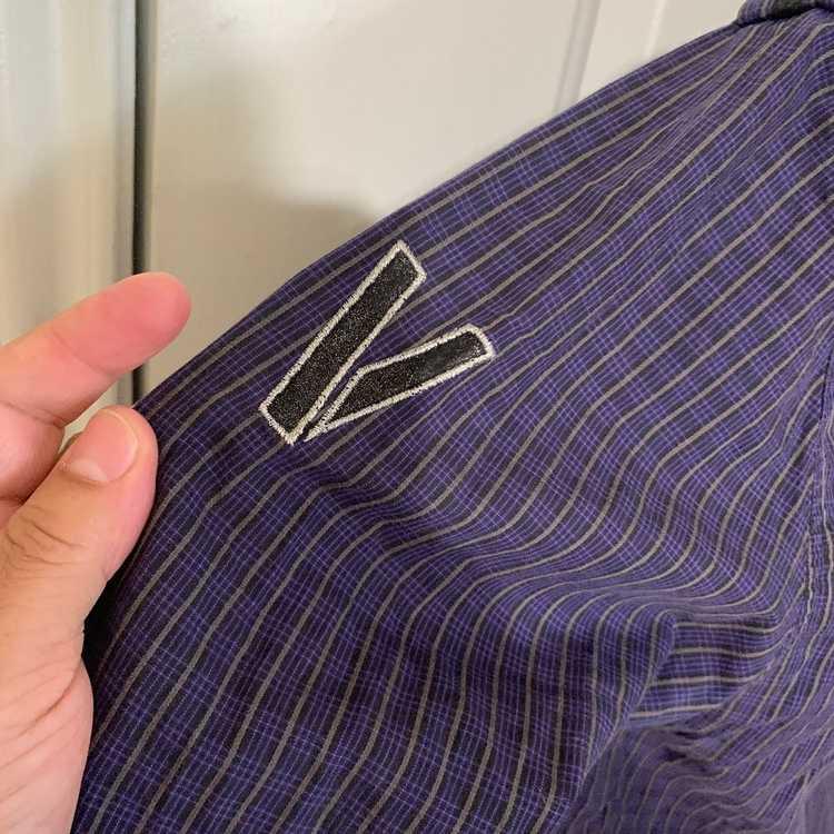Italian Designers × Verri Plaid Banded collar Shi… - image 10