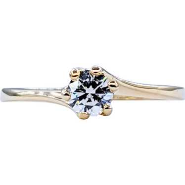 Simple & Elegant Diamond Solitaire Ring