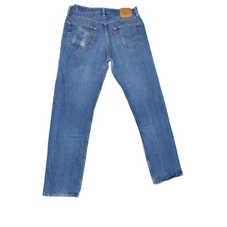 Levi's × Vintage 1990s Vintage Levis 501 Jeans 34… - image 2