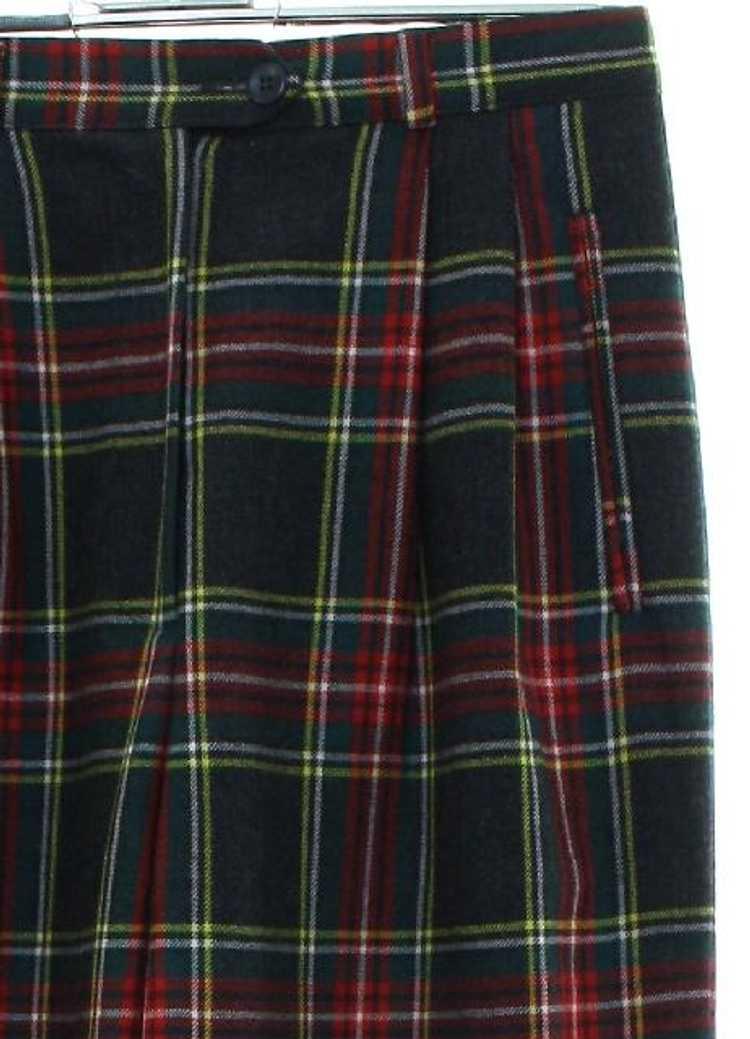 1980's Emporio Armani Womens Armani Designer Plai… - image 2