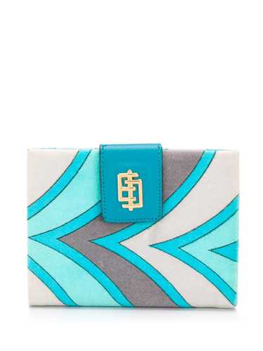 Emilio Pucci Pre-Owned 1960's printed wallet - Bl… - image 1