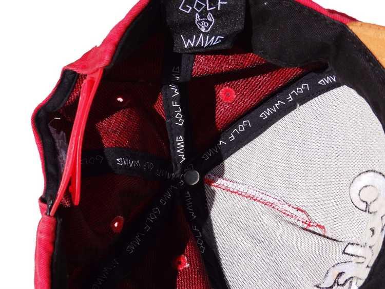 Golf Wang Red Script SnapBack - image 3