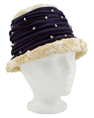 Straw and Pearl Hat