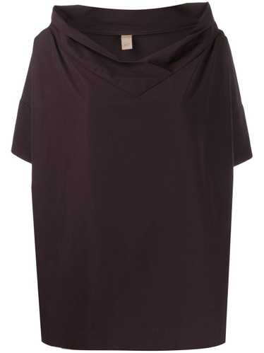 Romeo Gigli Pre-Owned 1990s oversized collar top -