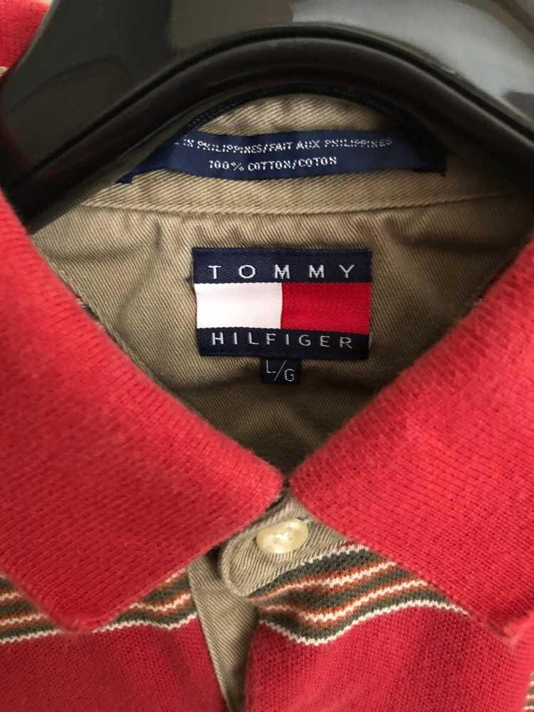 Tommy Hilfiger Tommy Hilfiger vintage stripe polo - image 5