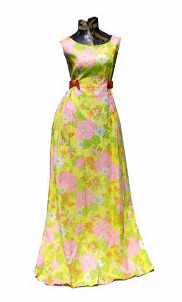 Organdy babydoll gown
